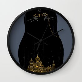 the master & margarita Wall Clock