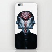 surrealism iPhone & iPod Skins featuring Optimistic Surrealism by PandaGunda