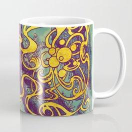 Epiphycadia III: Teal Coffee Mug