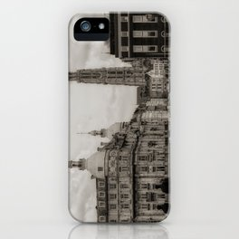 Watching the Cathedral iPhone Case
