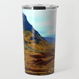 Glencoe, Scottish Highlands, in the Autumn Travel Mug