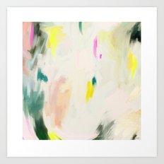 abstract love 1 Art Print