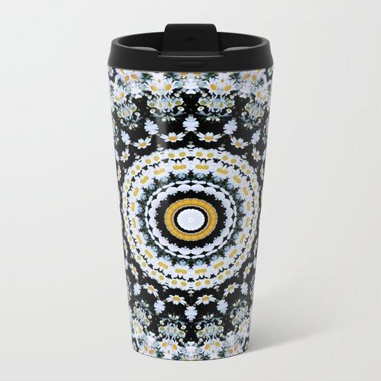 Just Because Nothingness Mandala Metal Travel Mug