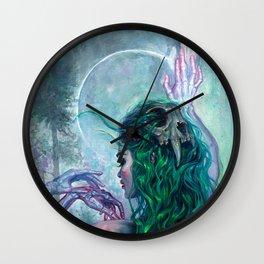 Shaman Bones Wall Clock