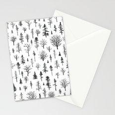 Tree Pattern Stationery Cards