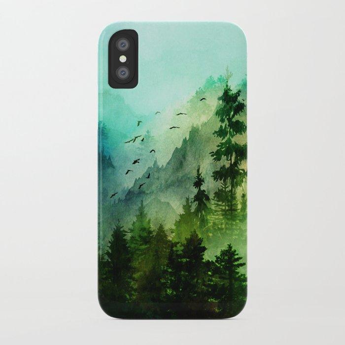 Mountain Morning iPhone Case