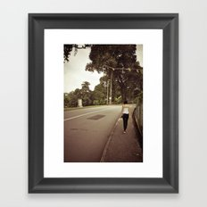 His and Her Journey.. Framed Art Print