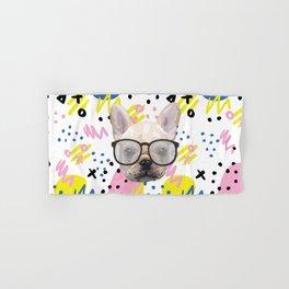 Dog with glasses Hand & Bath Towel