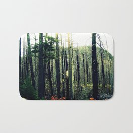 Desolate Forest Bath Mat