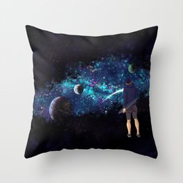 The Johnny Project Pt. 2 Throw Pillow