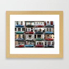 Cuba Cars - Horizontal Framed Art Print