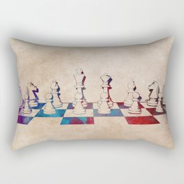 chess #chess #sport Rectangular Pillow