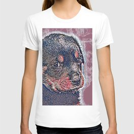 GlitzyAnimal_Dog_004_by_JAMColors T-shirt
