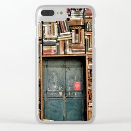 bookstore in Italy Clear iPhone Case