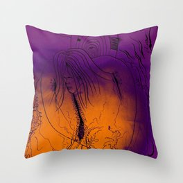 Spiderwebs Throw Pillow