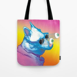 Jeffy the Springy Eyed Husky Tote Bag