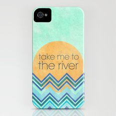 Take Me to the River Slim Case iPhone (4, 4s)