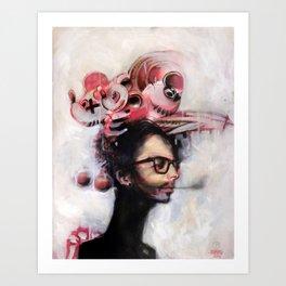Jet Lag Art Print