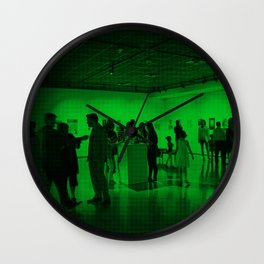 Lost Without Larry Exhibit Wall Clock