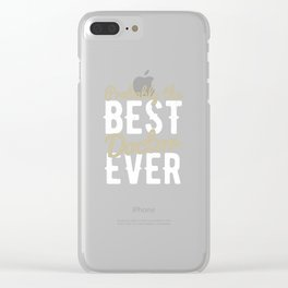 doctor doctor doctor doctor doc student medicine Clear iPhone Case