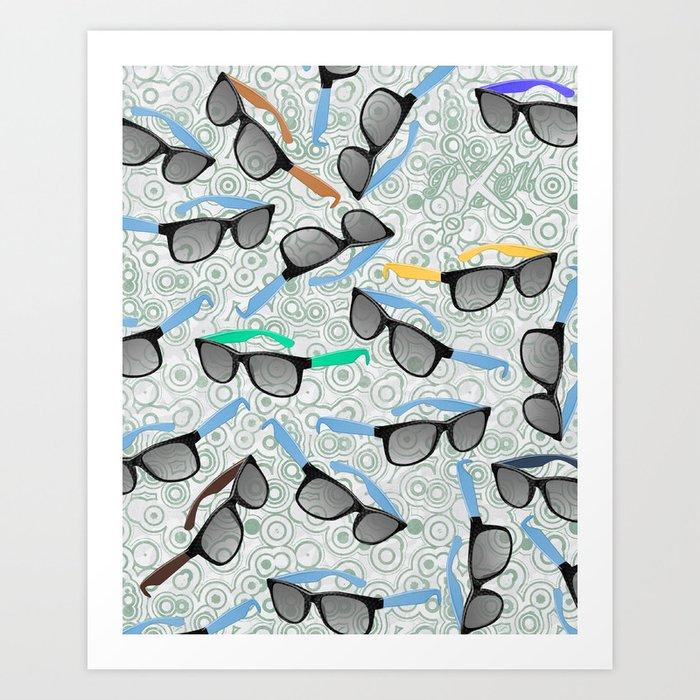 80's Shades Art Print