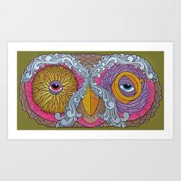 The Eyes! Art Print