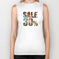 sale Biker Tanks featuring Sale by Gerko