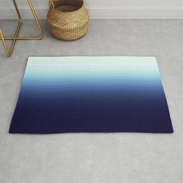 Nautical Blue Ombre Rug