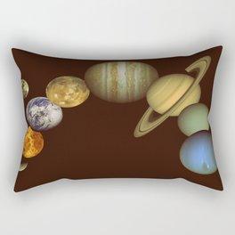 The Solar System Rectangular Pillow