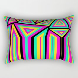 abstract flow Rectangular Pillow