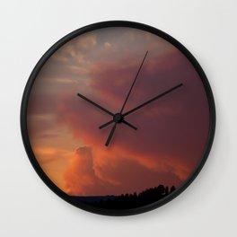 Firestarter Wall Clock
