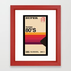 Super Tape Framed Art Print
