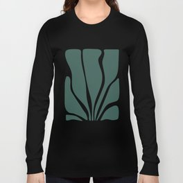 Abstract Seaweed Long Sleeve T-shirt