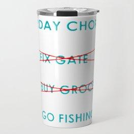 Chore List Travel Mug