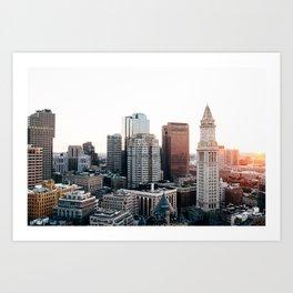 Boston, You're My Home Art Print