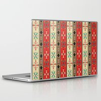 blanket Laptop & iPad Skins featuring Sioux Blanket by Tami Cudahy