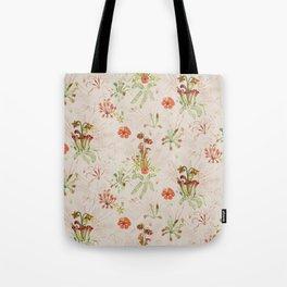 Carnivorous Floral Tote Bag