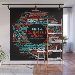 PHISH THE BAKERS DOZEN TOUR DATES 2020 ASAMJAWA Wall Mural