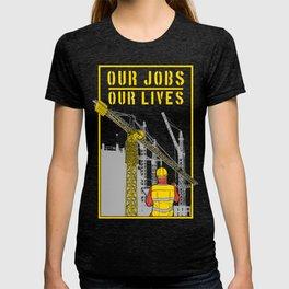 Operator Tower Cranes T-shirt