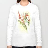 princess Long Sleeve T-shirts featuring Princess by Veronika Neto