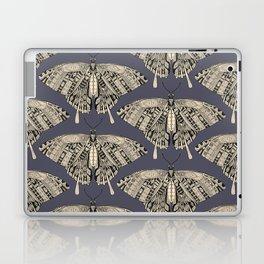 swallowtail butterfly dusk black Laptop & iPad Skin