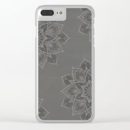 Essence - Stamp Gray Clear iPhone Case