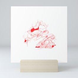 Sappy Red  Mini Art Print