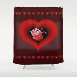 Delicious Valentine Shower Curtain