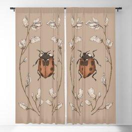 The Ladybug and Sweet Pea Blackout Curtain