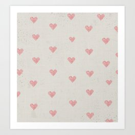 valentines background Art Print