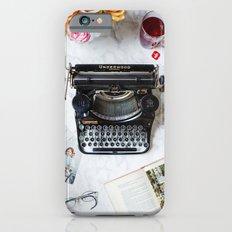 Typewriter Love. Slim Case iPhone 6s