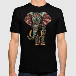Ornate Elephant (Color Version) T-shirt