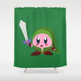 Kirby Link Shower Curtain