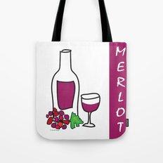 Merlot Wine Tote Bag